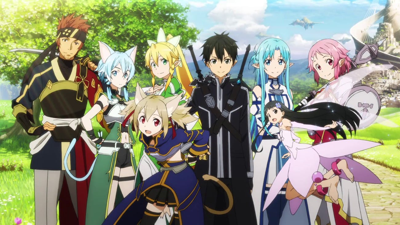 'Sword Art Online' has tons of different characters.