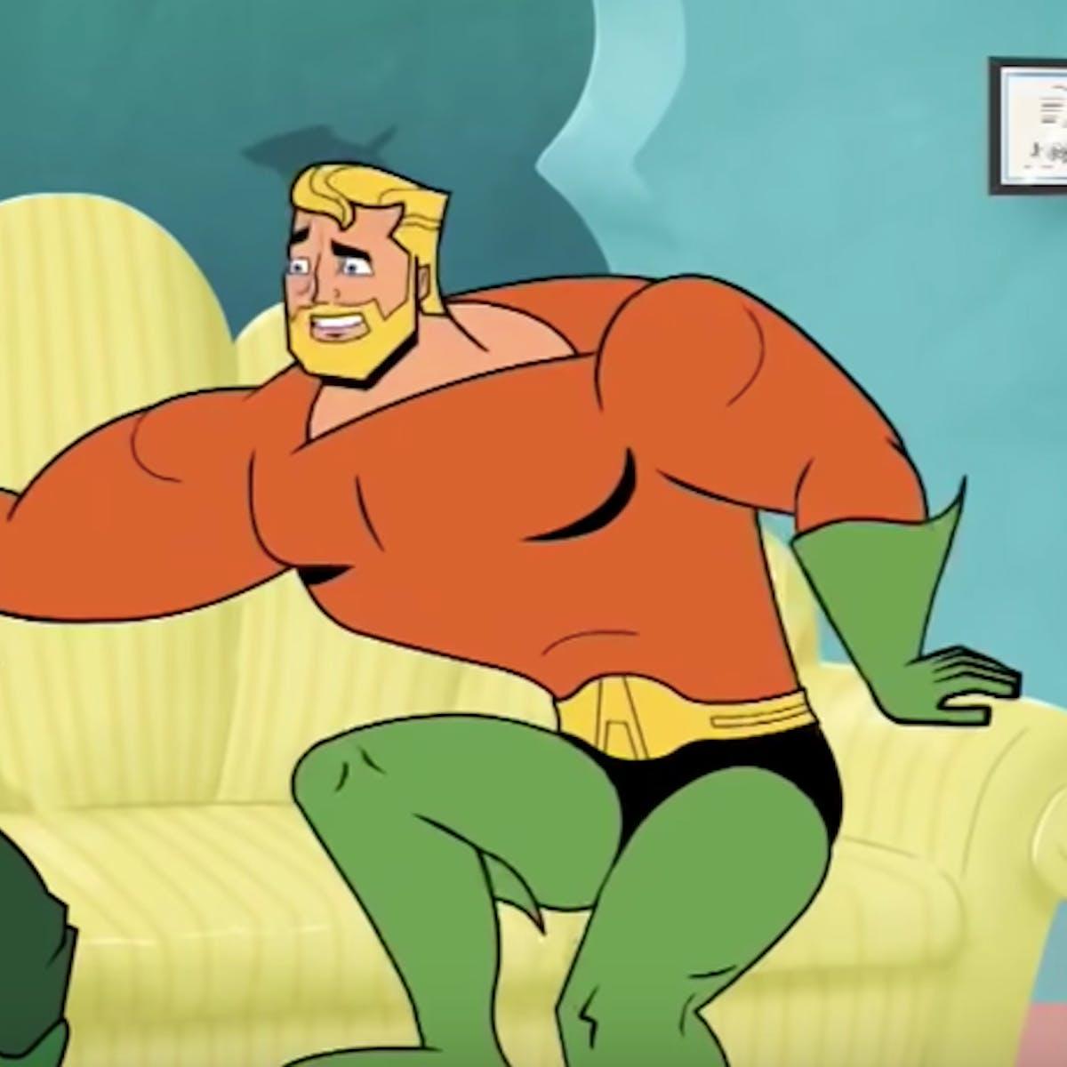 Aquaman Cartoon Trailer Mocks The Original Dc Superhero Inverse