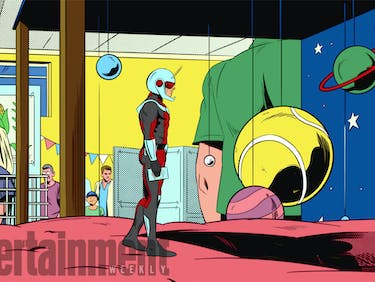 First Look at 'Ant-Man' Animated Series Is Comic Book Chic