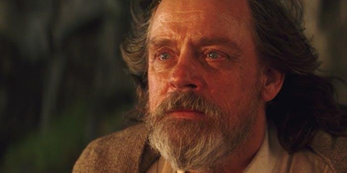 Luke Skywalker's death.