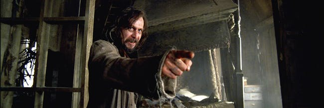 Gary Oldman as Sirius Black in 'Harry Potter and the Prisoner of Azkaban'