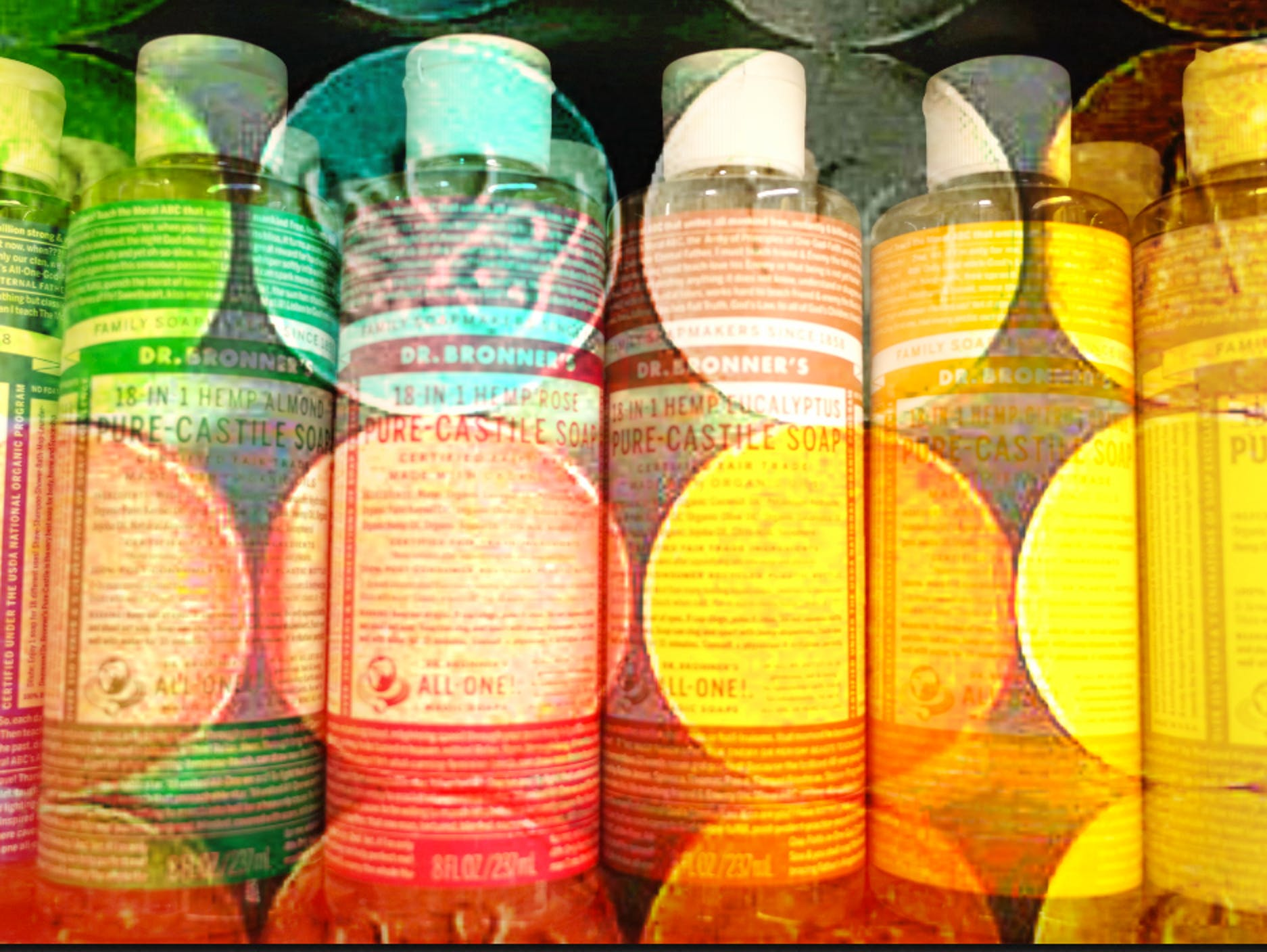 The soap company Dr. Bronners wants to fund a MDMA revolution.
