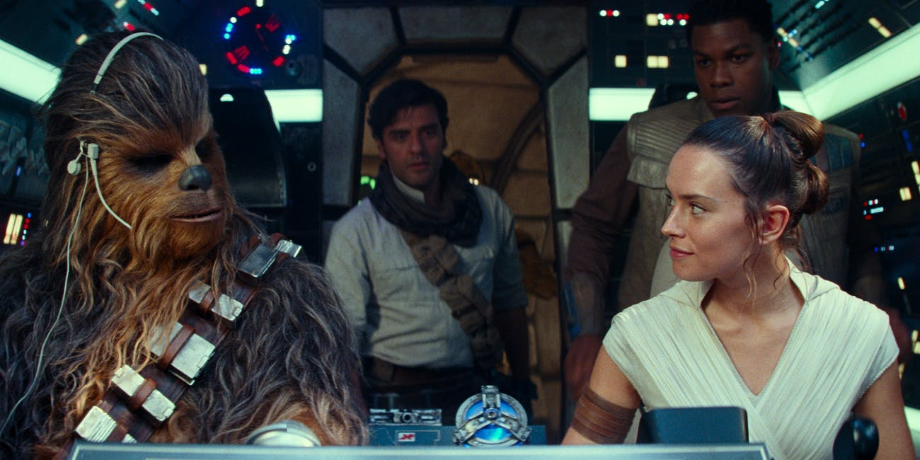 star wars the rise of skywalker falcon cockpit