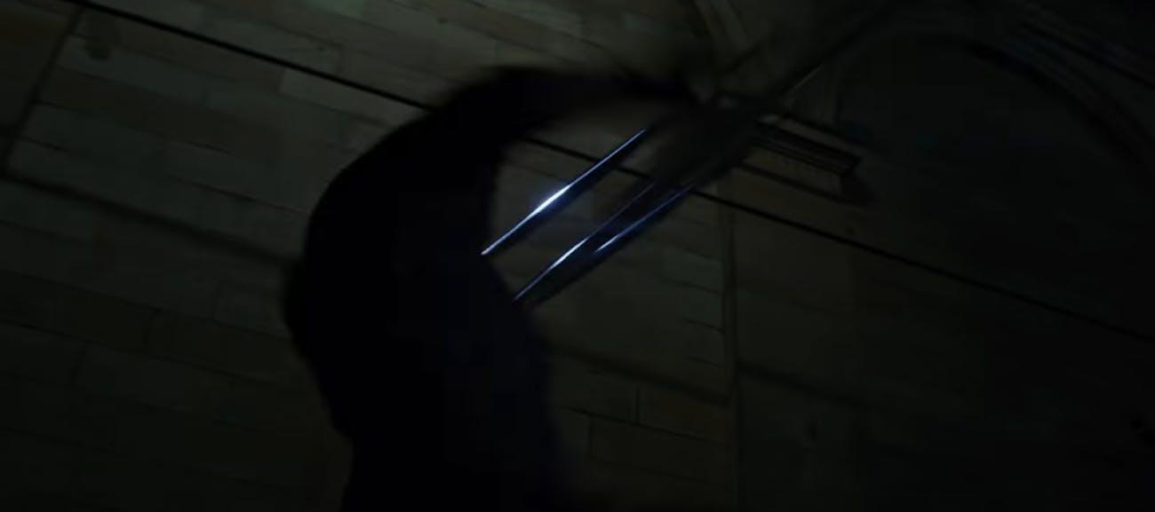 Captain America in the 'Infinity War' trailer