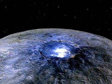 Landmark Discovery Reveals Complex Organic Compounds on Ceres