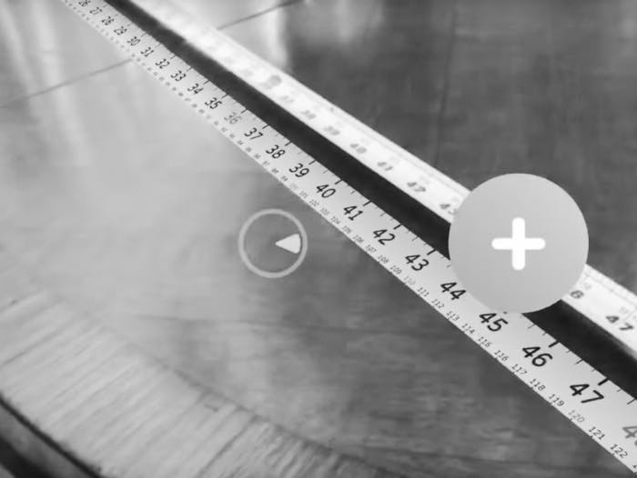 laan labs augmented reality tape measure app camera phone ar