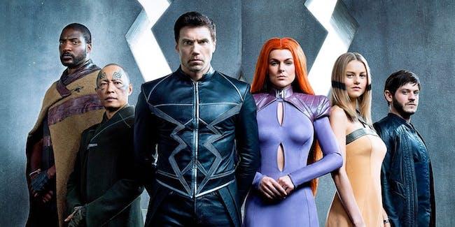 Inhumans Black Bolt Agents of SHIELD