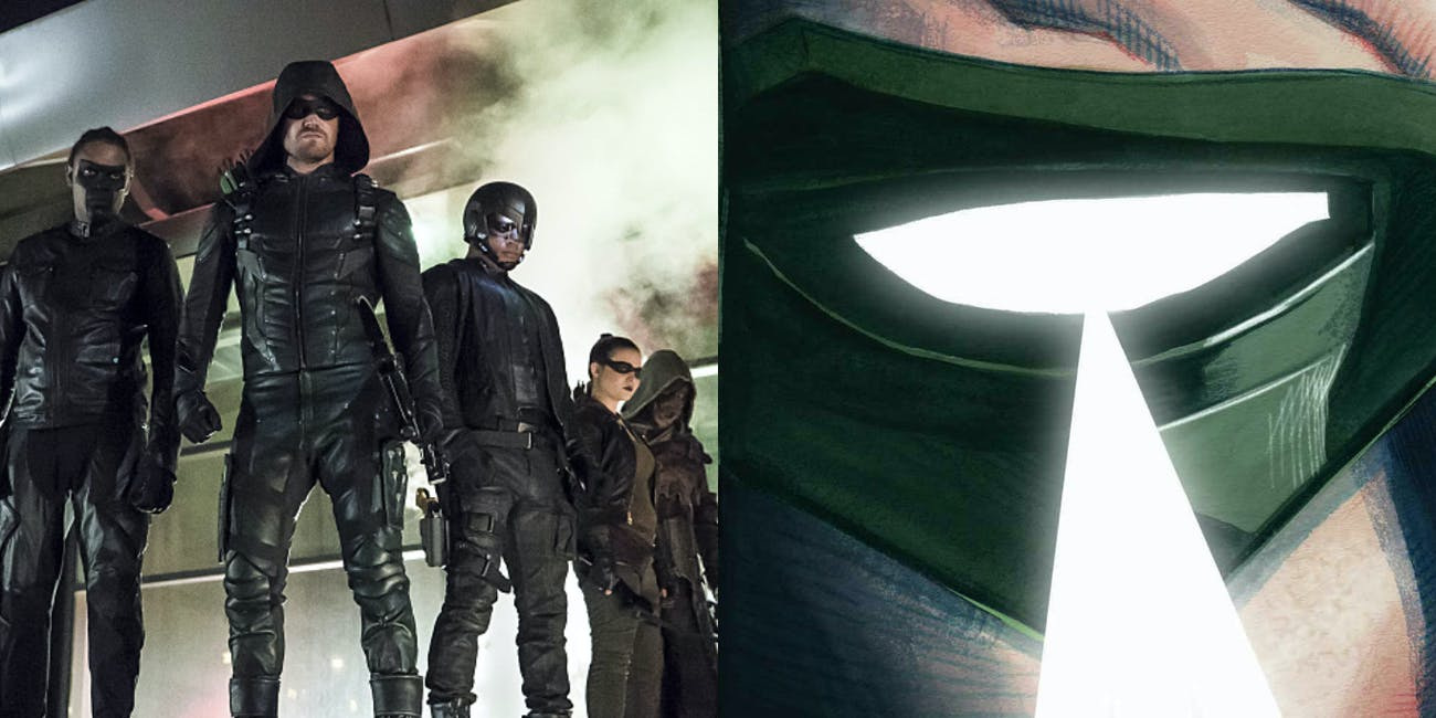 Green Arrow CW DC