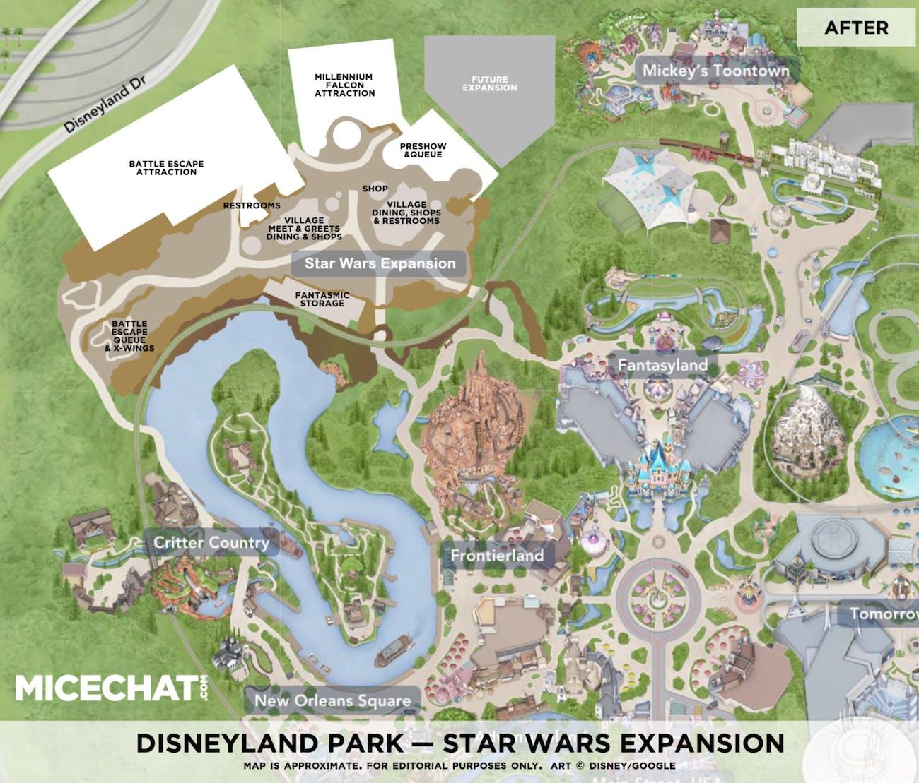 Star Wars Land Disney World Map Time Zones Map: Star Wars Disney World Map