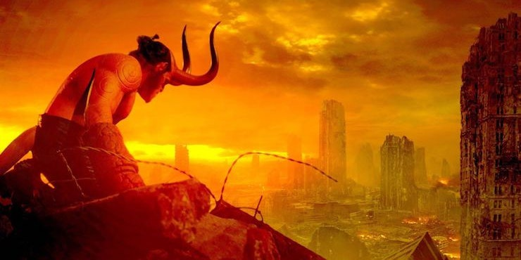 'Hellboy' Movie Poster Teases an Apocalyptic Moment for ... Horns Movie Poster