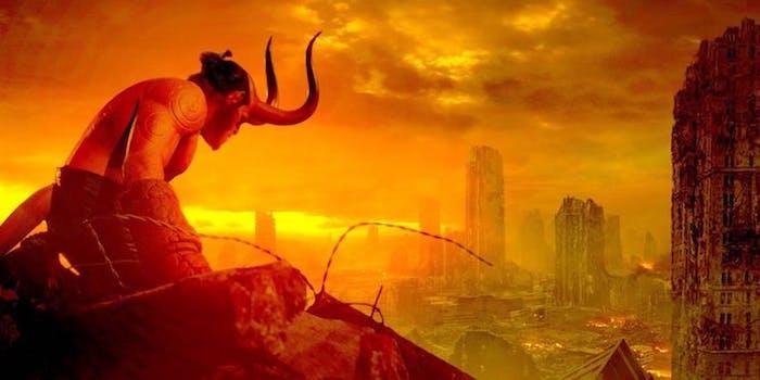 'Hellboy' movie.