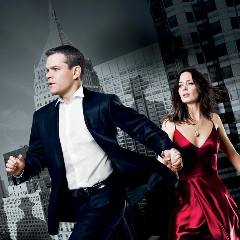 Matt Damon and Emily Blunt in 'The Adjustment Bureau'