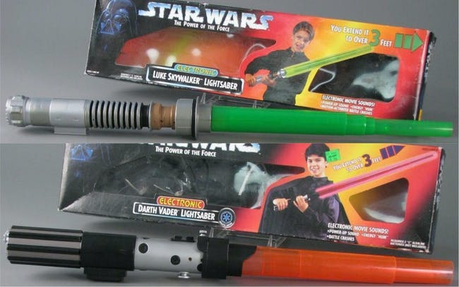 Star Wars Lightsabers Toys