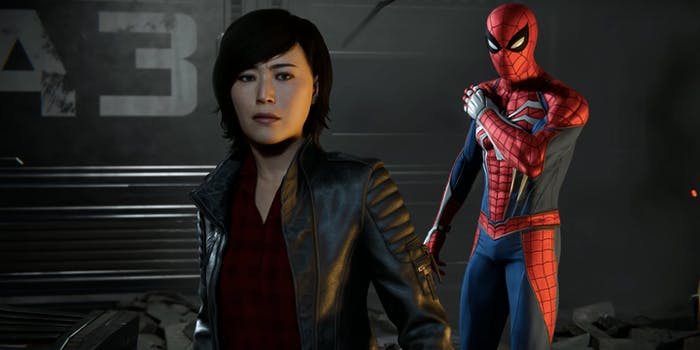 Spider-Man Yuri Watanabe
