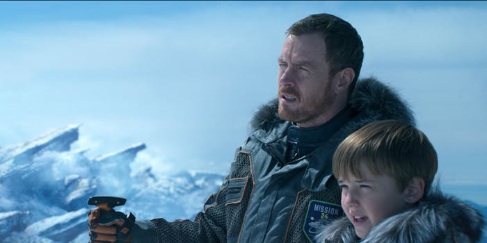 The Robinson's explore new territory in the 'Lost in Space' reboot.