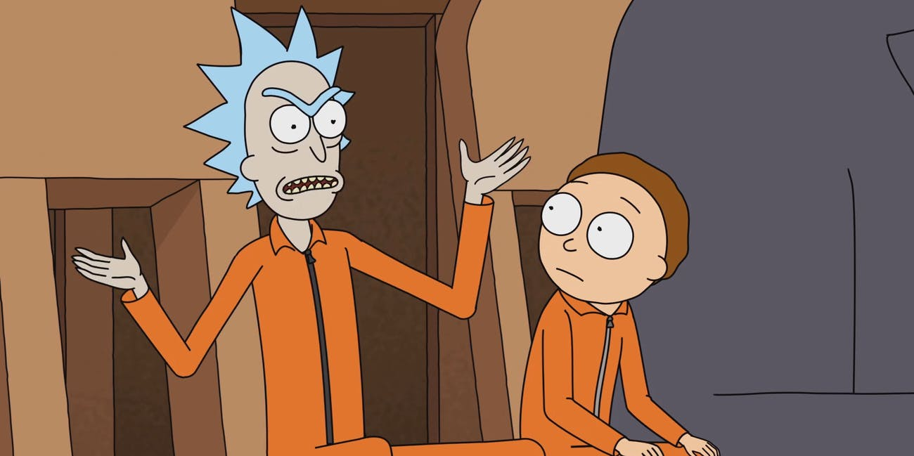 A story article about a story about a story. Let's do it. Rick and Morty go on a meta adventure while Jerry struggles with Mr. Meeseeks