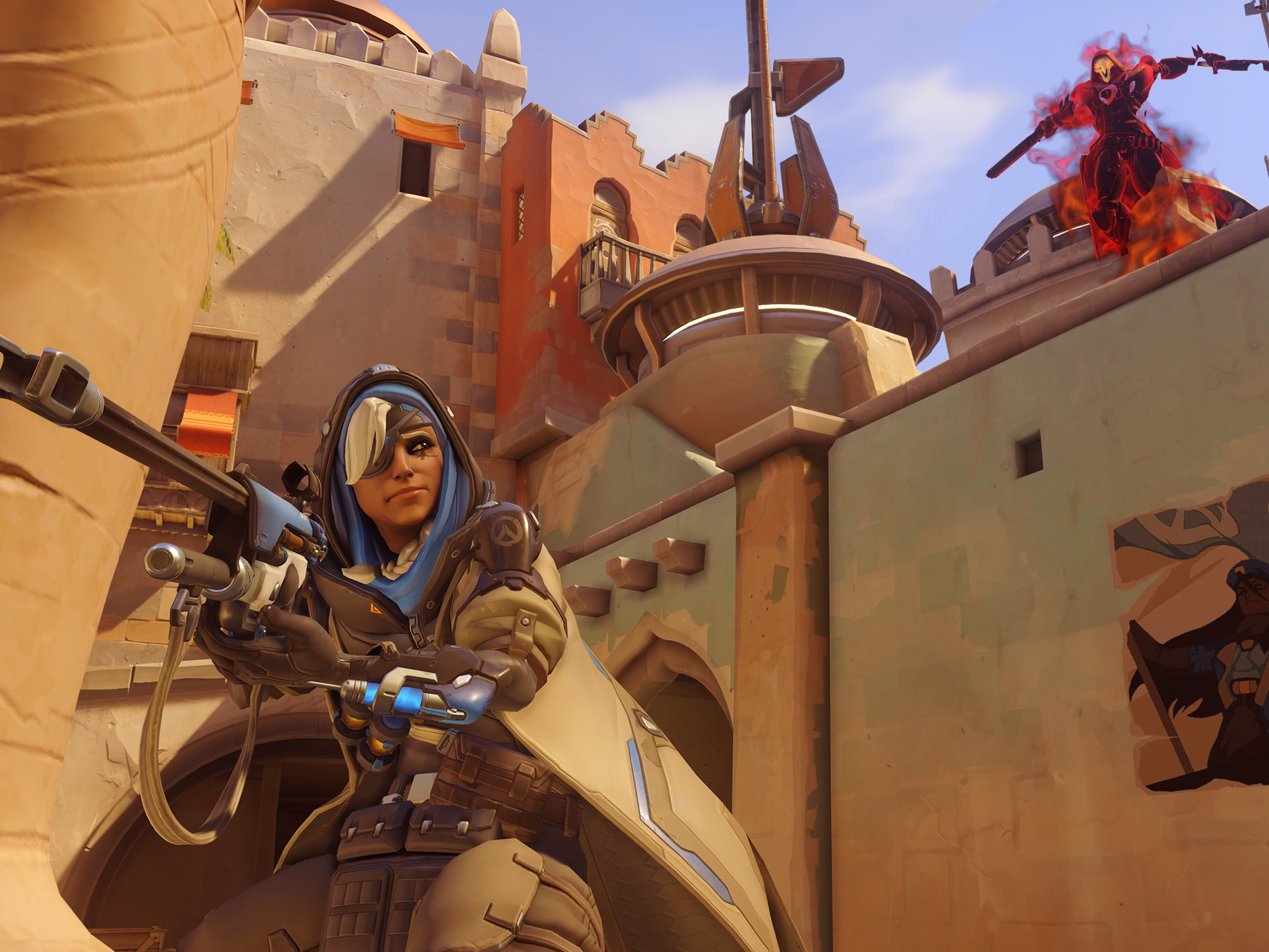 overwatch how to get play of the game as ana