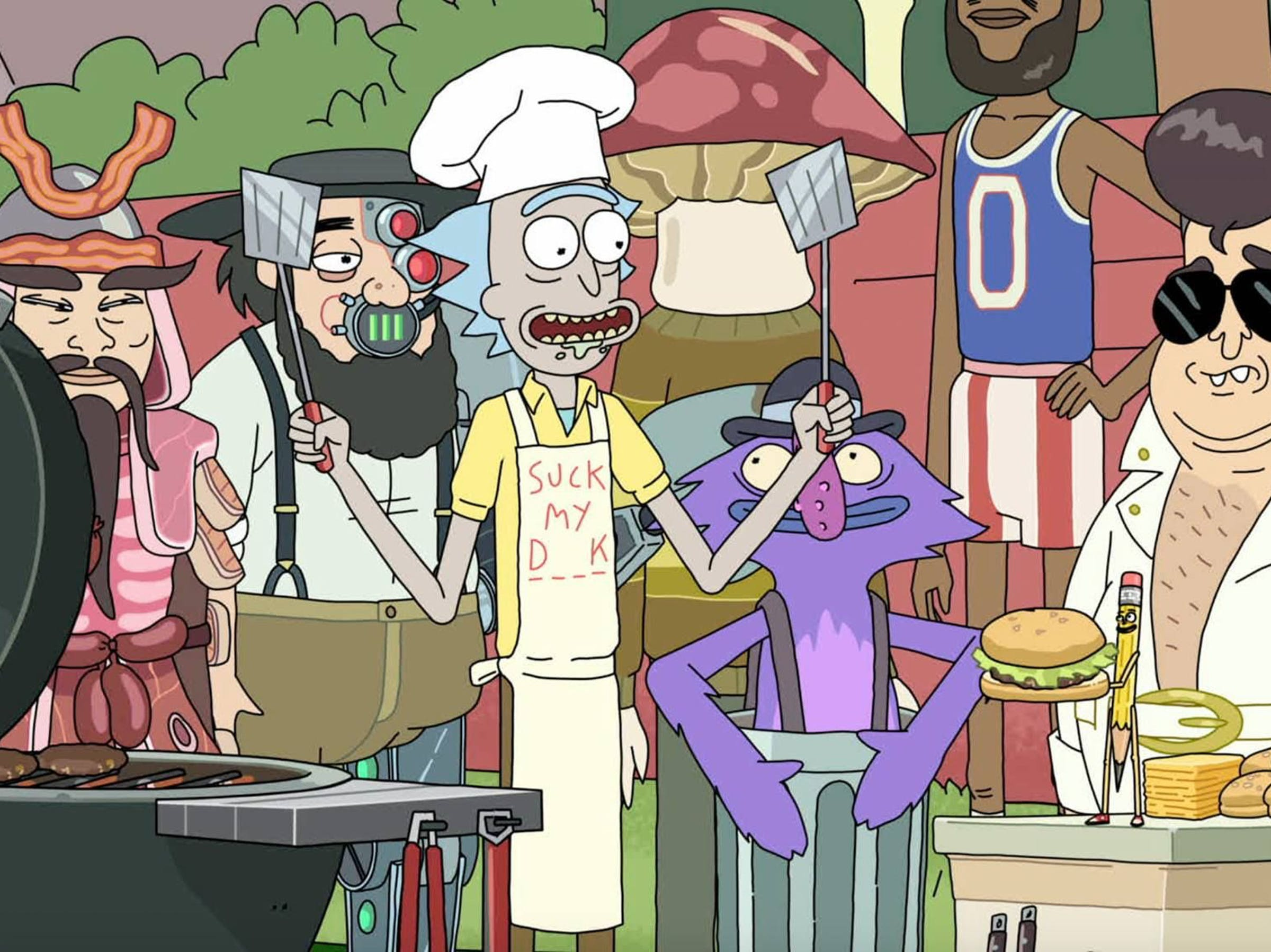 'Rick and Morty' has so many guest stars each season.