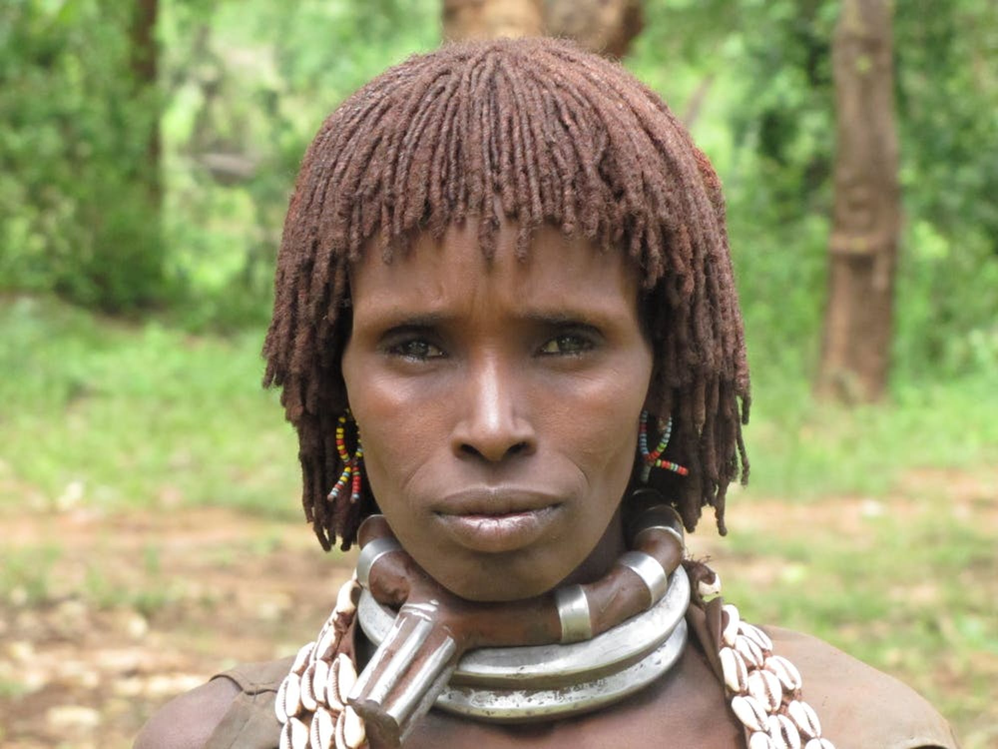 A Hamer individual from Ethiopia who took part in the study. Many alleles associated with light skin originated in Africa, not in Europe.