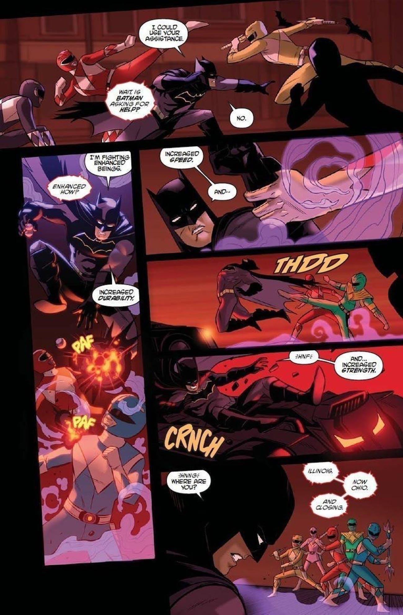 Power Rangers Batman