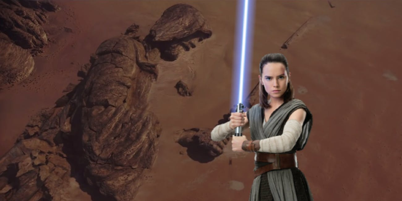 A return to a 'Rogue One' location in 'Episode IX' could mean big things for Rey's Star Wars journey.