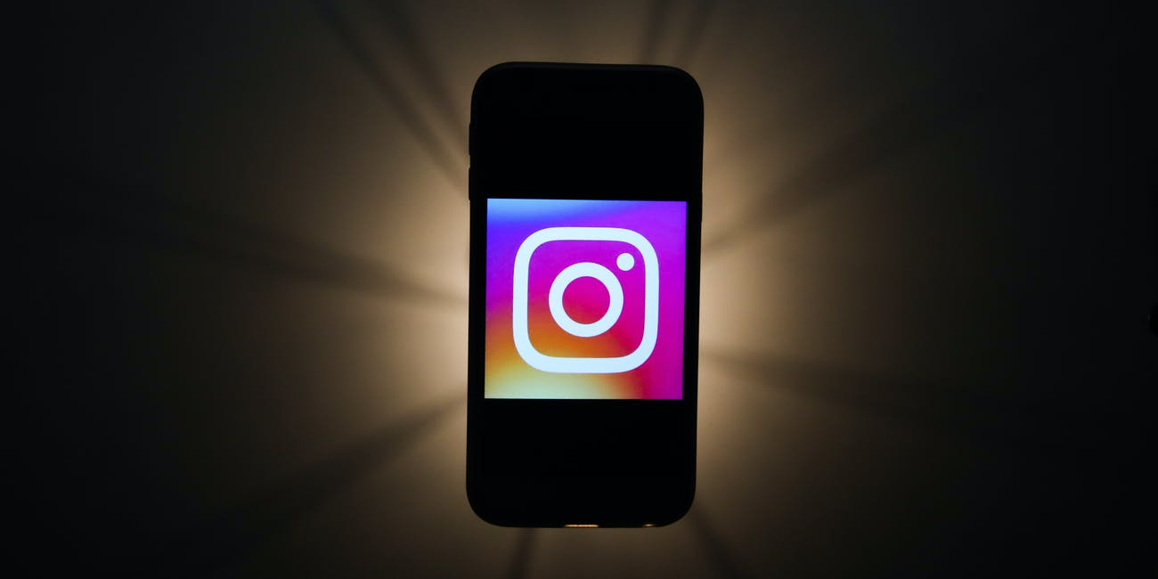 Instagram logo is seen displayed on a phone screen in this illustration photo taken in Krakow, Poland on November 13, 2019.