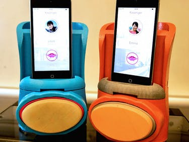 This iPhone Robot Kissing Machine is the Long Distance Dream