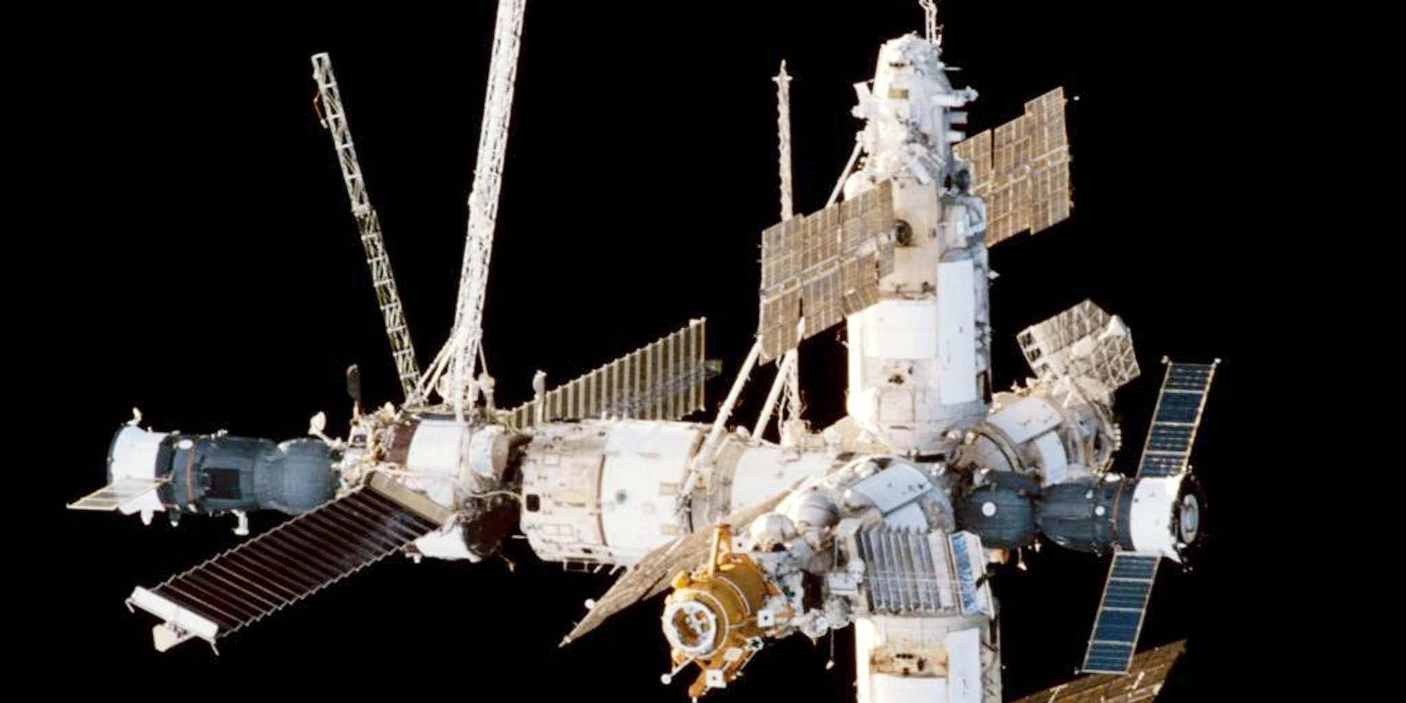 ussr launches mir space station - photo #10