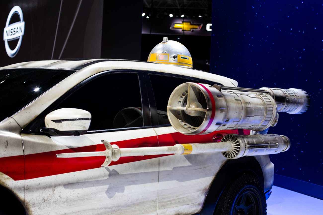 Nissan Shows Off Wild 'Star Wars' Mods on Its Rogue SUV
