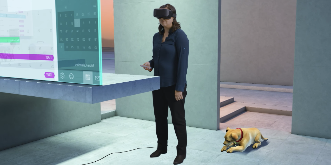 Windows 10 will feature mixed reality options.