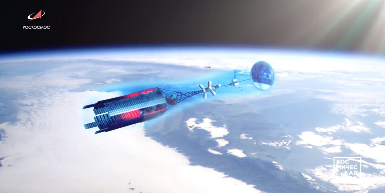 russia nuclear spacecraft