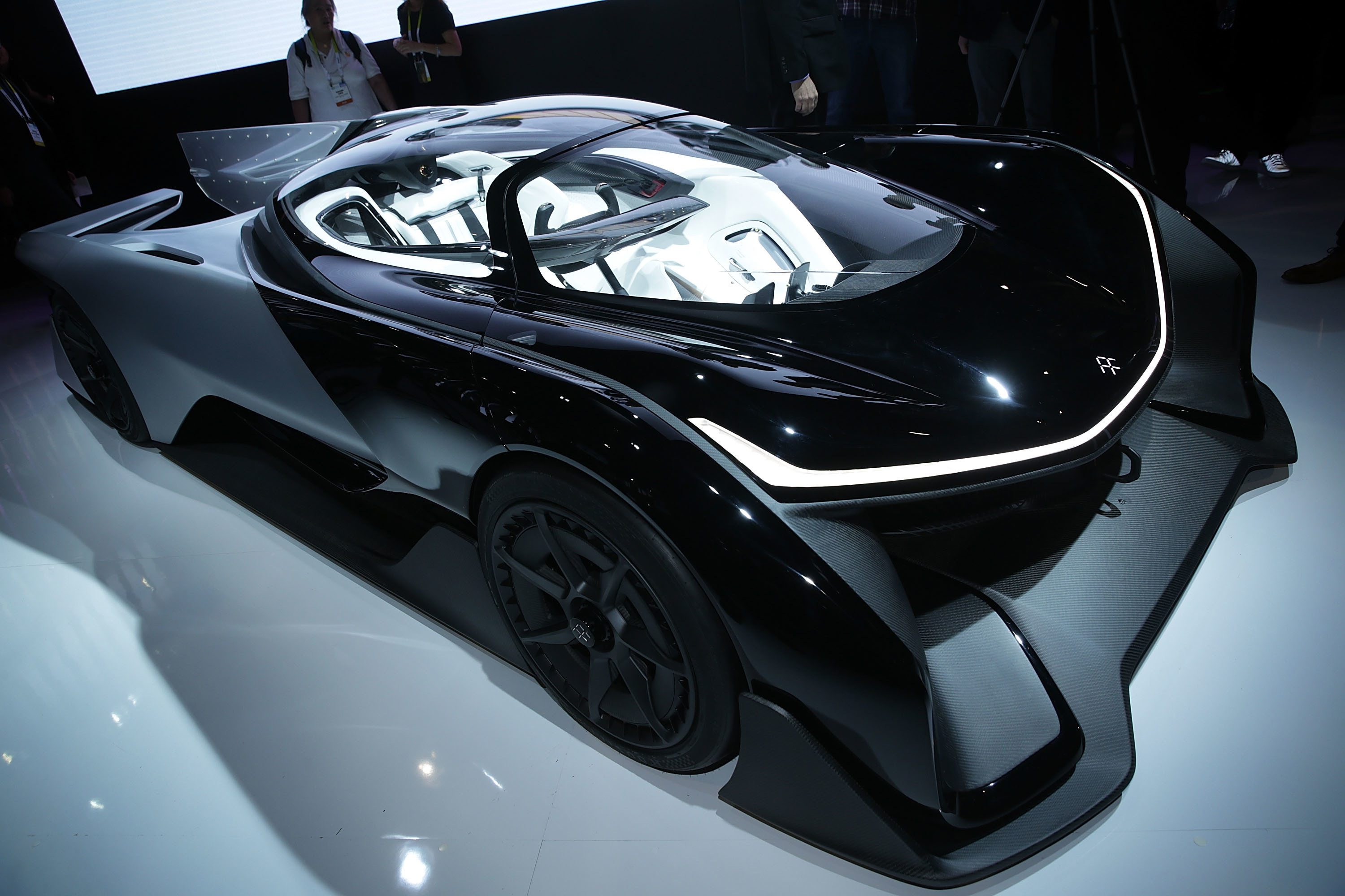 Faraday Future Revealed Its Electric Car and Thankfully It Looks