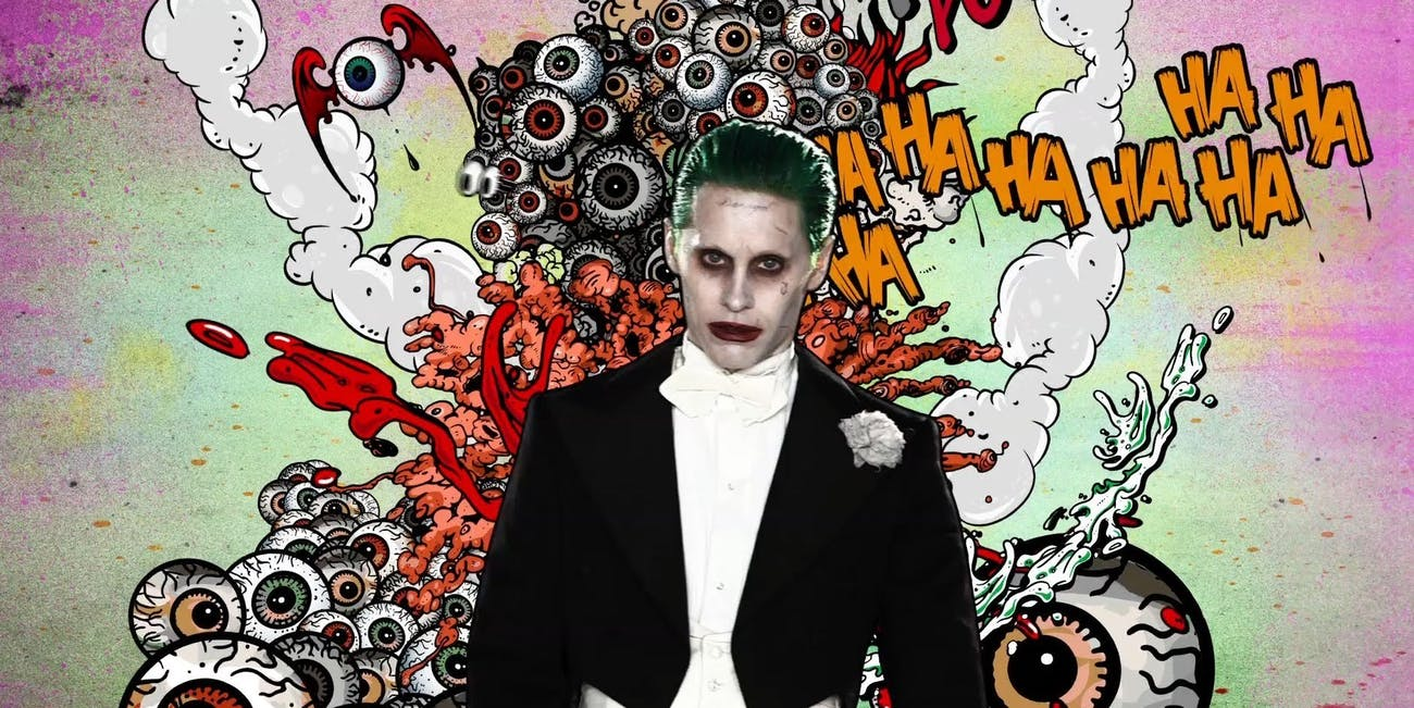 Jared Leto as Joker in DC Suicide Squad