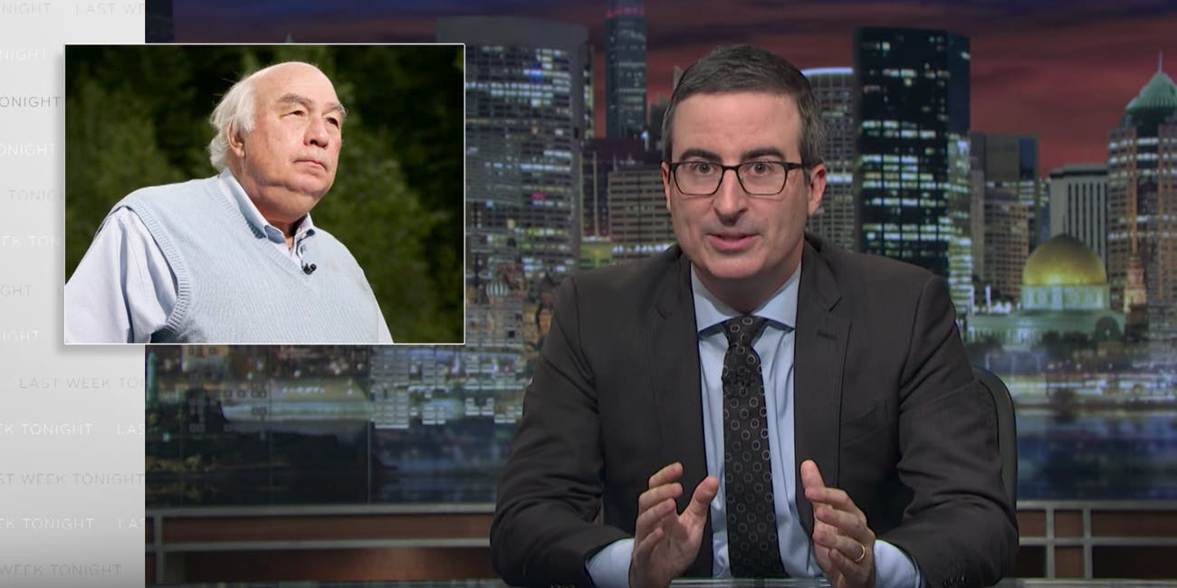 John Oliver on HBO's 'Last Week Tonight'