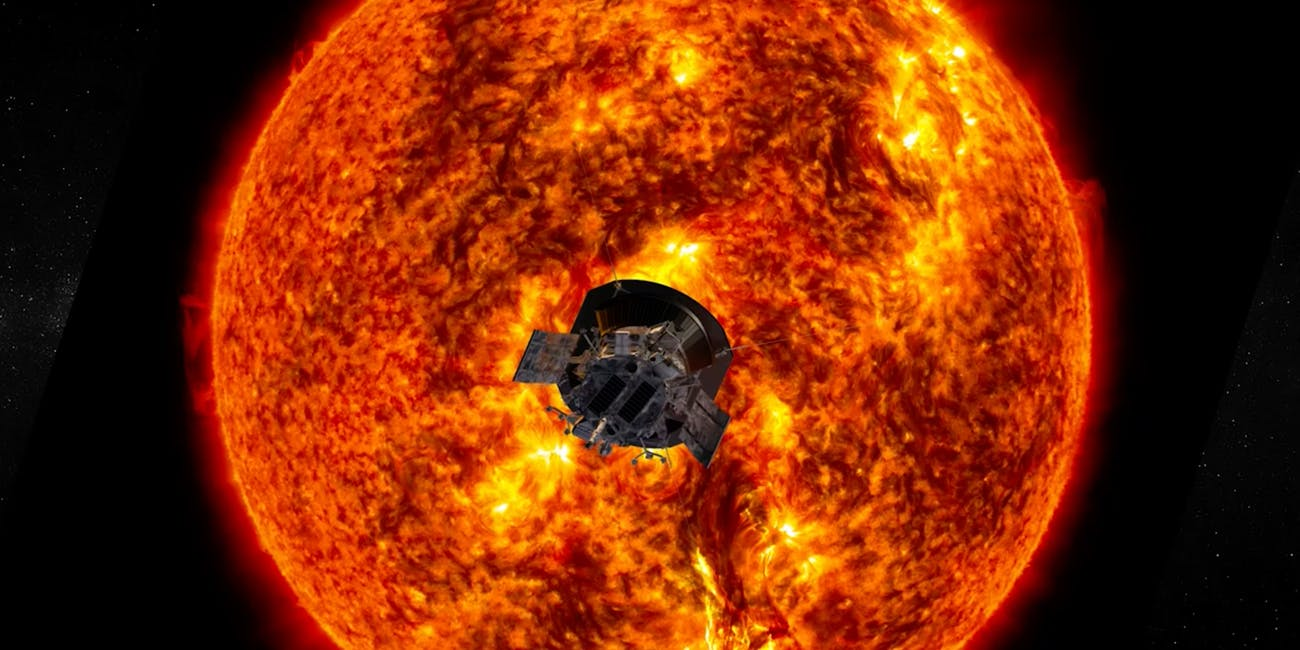 NASA Parker solar probe photo