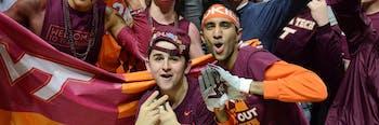NCAA basketball Virginia Tech