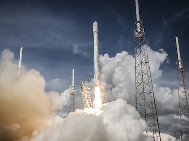 SpaceX Will Launch Its First Spy Mission for America on April 30
