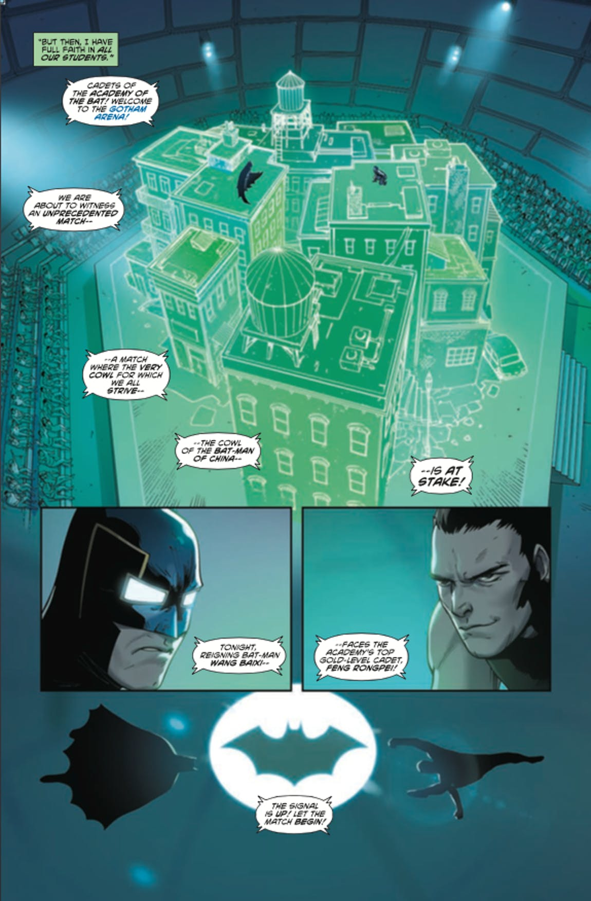 Chinese Batman New Super-Man