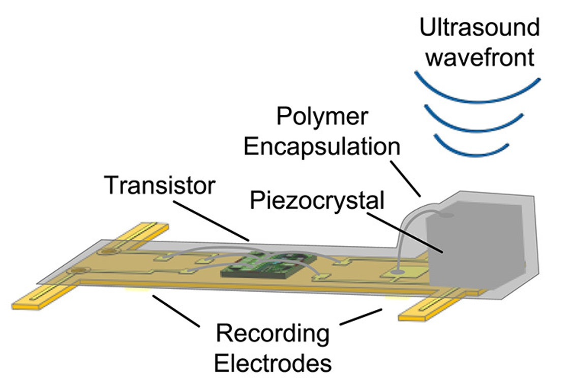 Diagram of one of the tiny sensors.