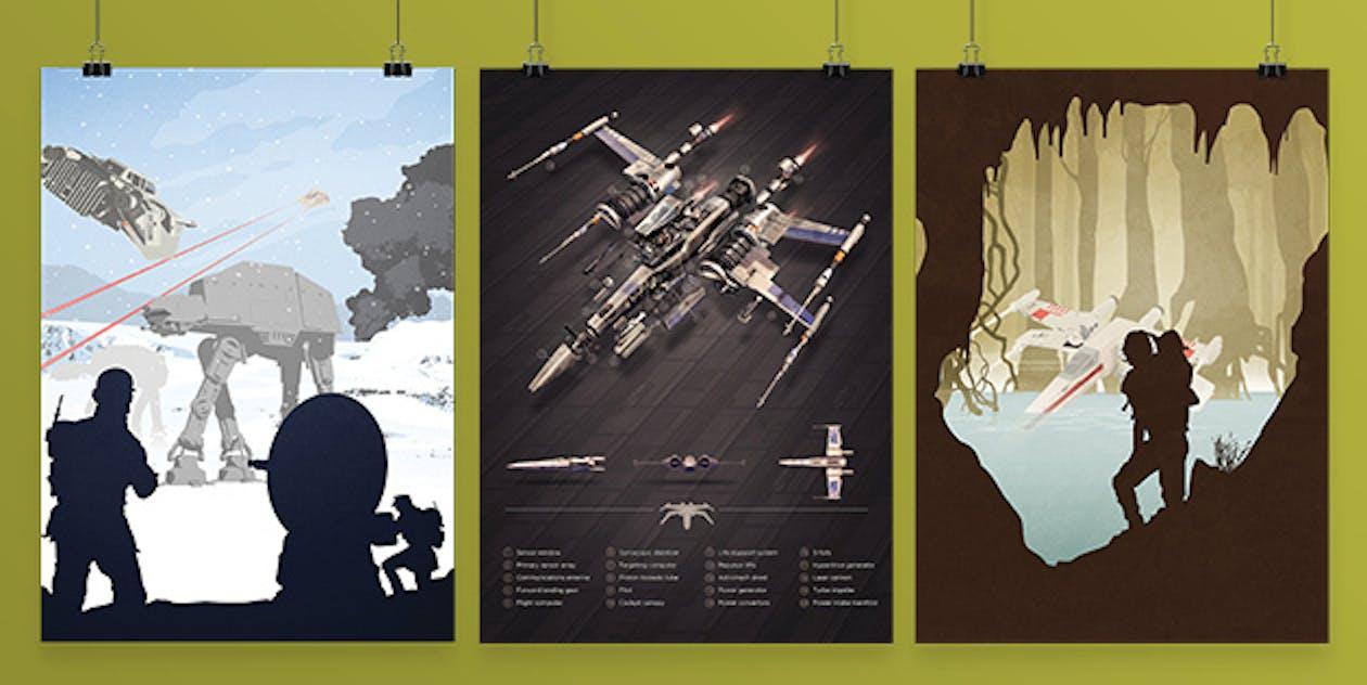 Star Wars Last Jedi Posters
