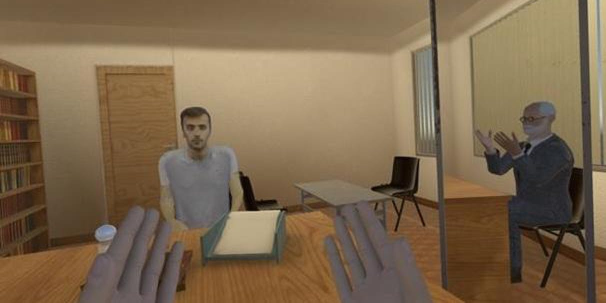 """Strange VR Study Shows Psychological Perks of """"Body Swapping"""" With Freud"""