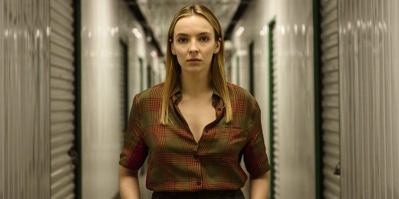 Jodie Comer in Killing Eve Season 2