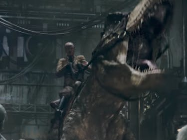 Whatever, Here's a Movie Where Hitler Rides a T. Rex