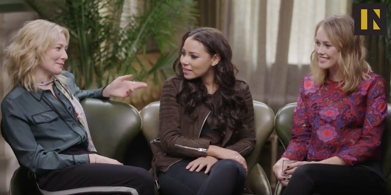 Anne Bonny, Eleanor, and Max talk 'Black Sails' Season 4