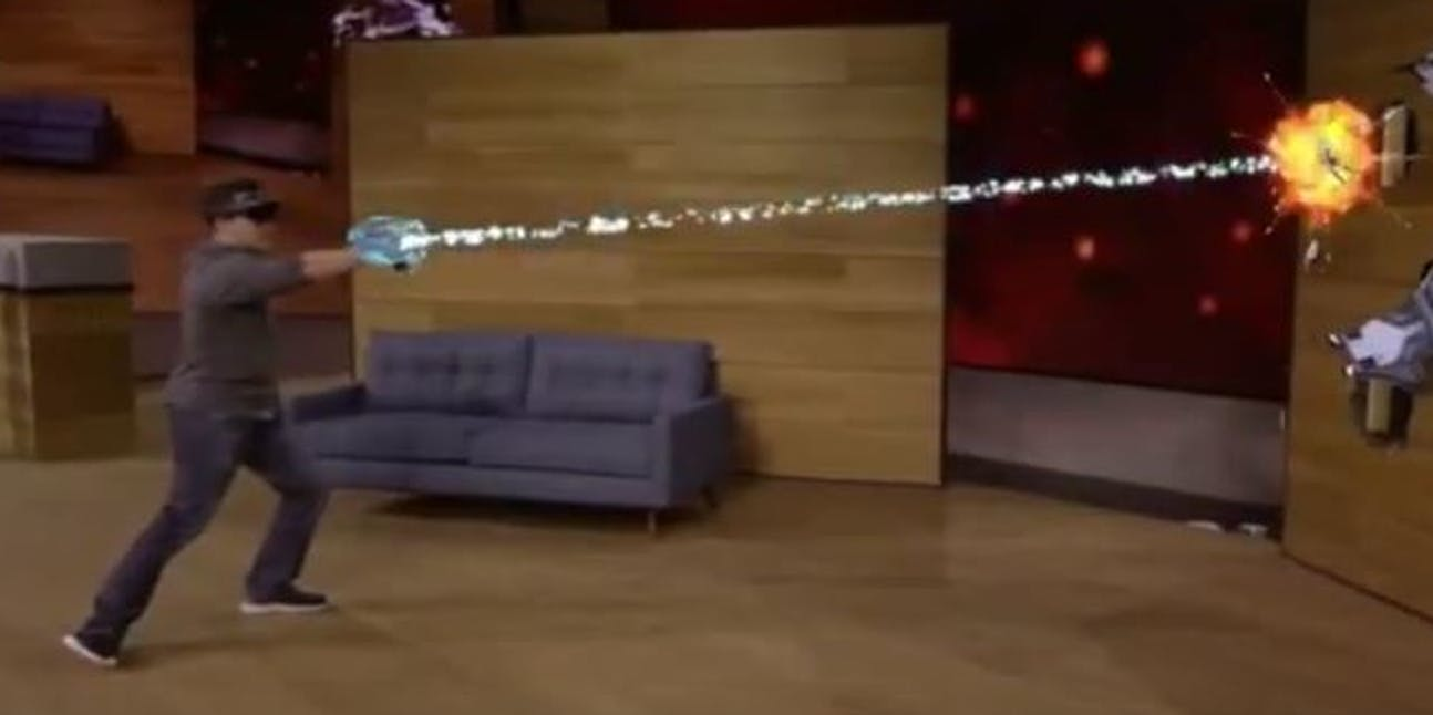 Microsoft 'Project X-Ray' HoloLens Demo Previews Holographic
