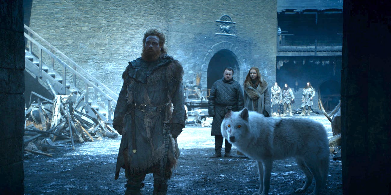 Game of Thrones Tormund Ghost