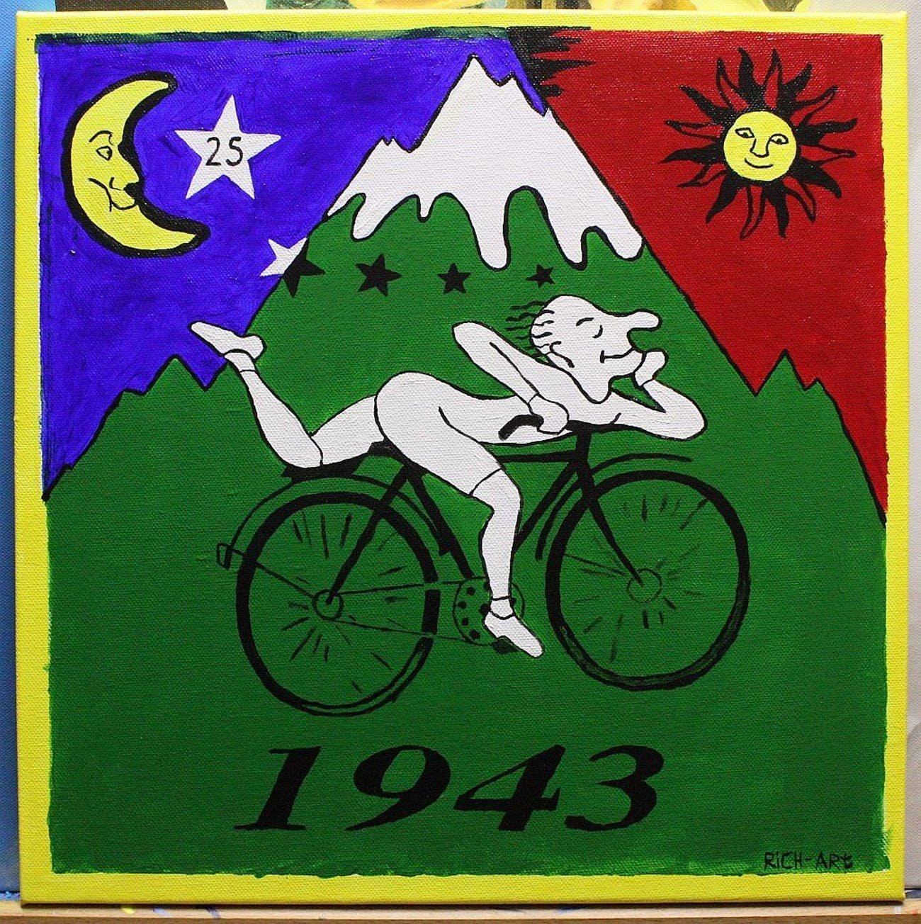 Bicycle Day 2018  The Day Albert Hofmann Took the First LSD Trip in ... a009084d0