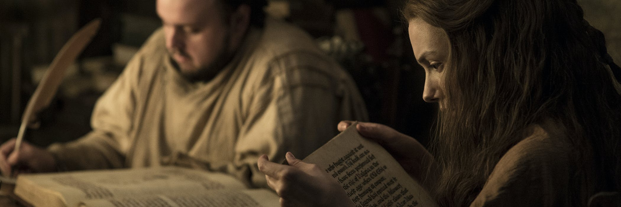 Sam, Gilly, and Azor Ahai in 'Game of Thrones' Season 7
