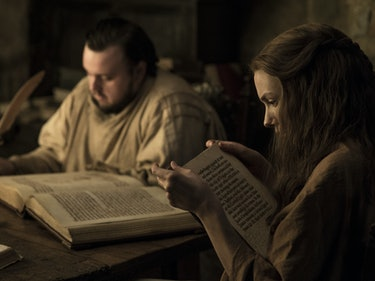 Here's What Sam and Gilly Are Reading in the New 'GoT' Photos
