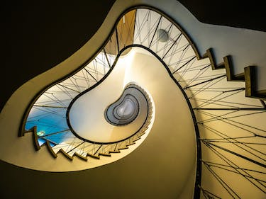 Spiral Staircase - view up